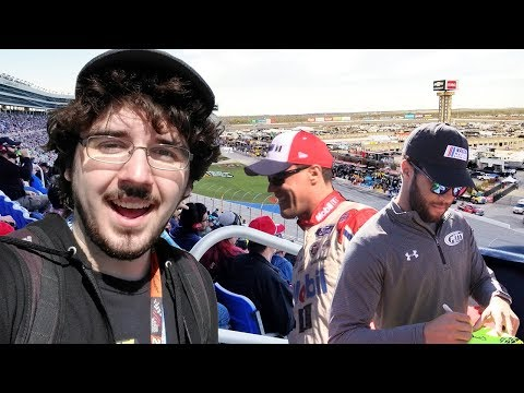 Texas Motor Speedway VLOG | The Full Race Day Experience!
