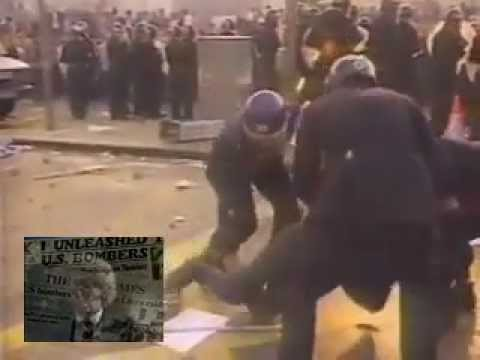 Jim Davidson Sings 'Maggie' - Poll Tax Riots.