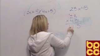 Math 099 Module 3.2 - Multiplication of Polynomial Expressions