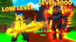I FOUGHT THE MAX LEVEL 3000 BOSS UND GOT TOO RICH.. (Roblox Slaying Simulator)