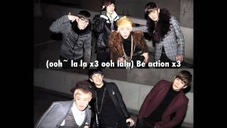 Download Block B- Action (ENG,Romanization) MP3 song and Music Video