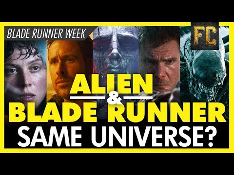 Proof: Blade Runner And Alien Share The Same Universe | Ridley Scott's Universe | Flick Connection