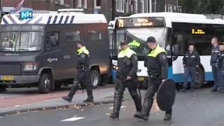 Ajax en Groningen-fans zoeken confrontatie, 90 supporters opgepakt