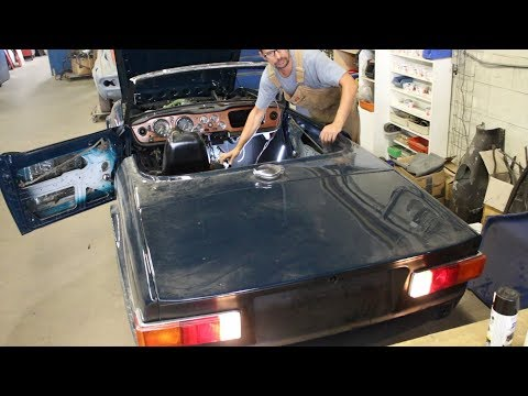 1973 Triumph TR6 Restoration - Part 28 - More Wiring And Cables