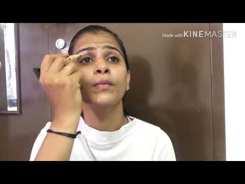 Elegant makeup look for karwachoth or Durga Puja..look stylish with this look