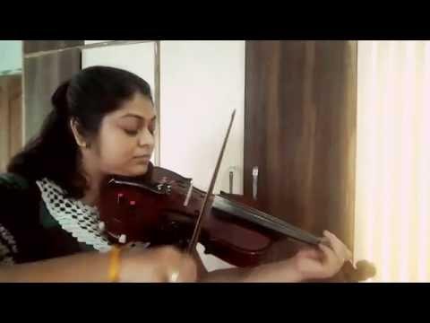 Jeena yaha marna yaha song on Violin