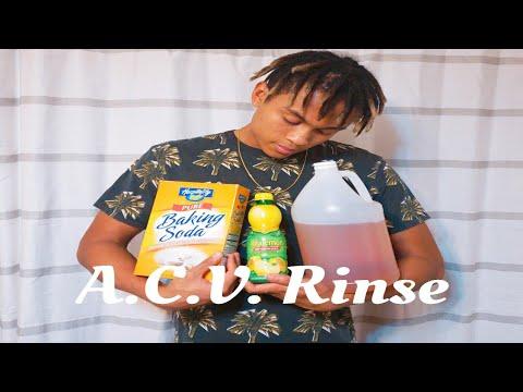 How to Wash Dreadlocks w/ ACV Rinse