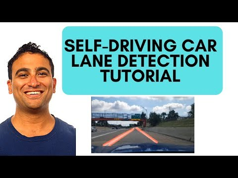 🚔Detect Lanes for Self-Driving Cars | OpenCV Python Tutorial | Computer Vision Tutorial thumbnail