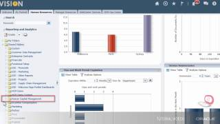 This video tutorial applies to rel 9 through 13. it shows you how run the headcount and mobility by department report can be filte...