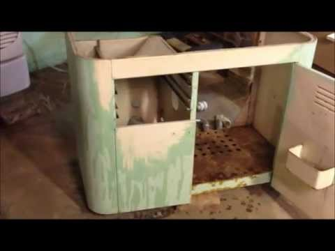 How to restore cast iron farm sink