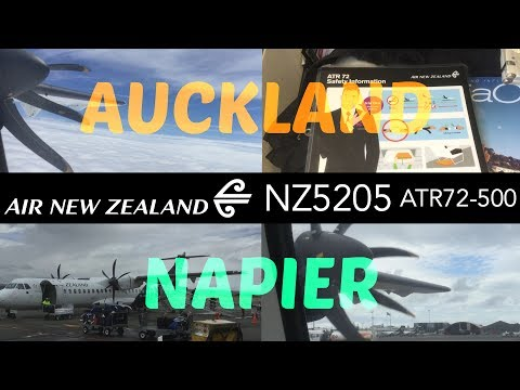 Air New Zealand NZ5205 : Flying From Auckland To Napier