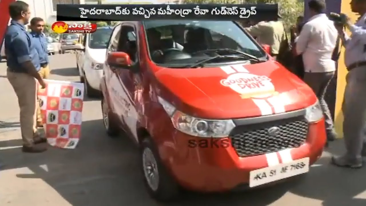 Mahindra e2o Electric Car in Hyderabad - Watch Exclusive