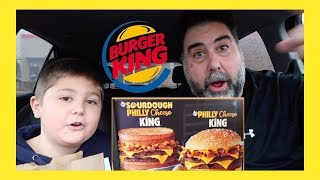 Burger King Sourdough Philly Cheese King Review