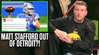 What team do you think would be a good fit for stafford?this is clip from the pat mcafee show live noon-3pm est mon-fri.become member! https://www.y...