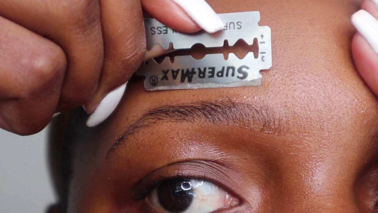 Download easy brow grooming tutorial