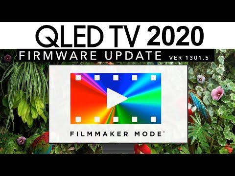 Samsung adds FILMMAKER MODE & Fixes Game Issues   QLED 2020 USA Firmware Update 1301.5   Q90T