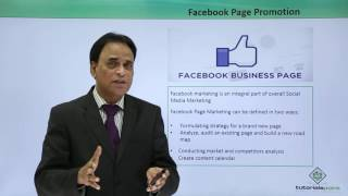 Facebook Marketing - Page Promotion