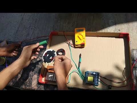 How to design a wireless charging model for electrical car using solar panel