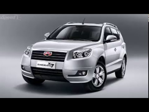 2014 Geely Emgrand X7 Youtube