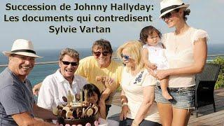 Succession de Johnny Hallyday : Les documents qui contredisent Sylvie Vartan