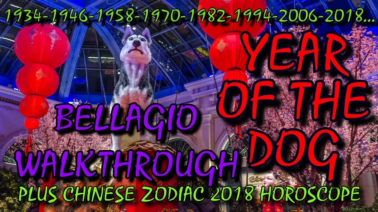 Year of the Dog 2018 - Bellagio Gardens - Chinese New Year - Things to do  in Vegas