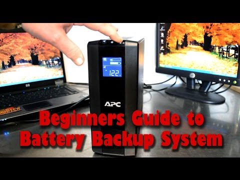 Beginners Guide to Using a Battery Backup UPS System