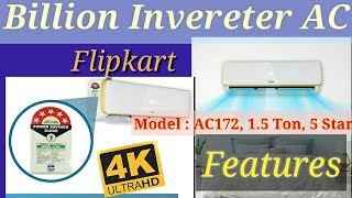 billion inverter ac(air conditioner) [ pre- review - features only]