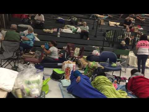 Clearwater fundamental middle school, shelter for hurricane Irma