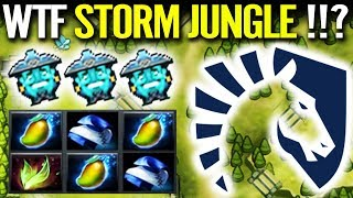 WTF Storm Spirit Jungle!? Miracle New IMBA Cancer Farm Most Fun Dota 2