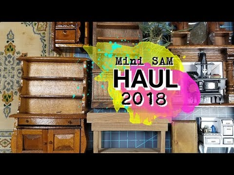 Dollhouse Miniatures Haul and Last Video of 2018