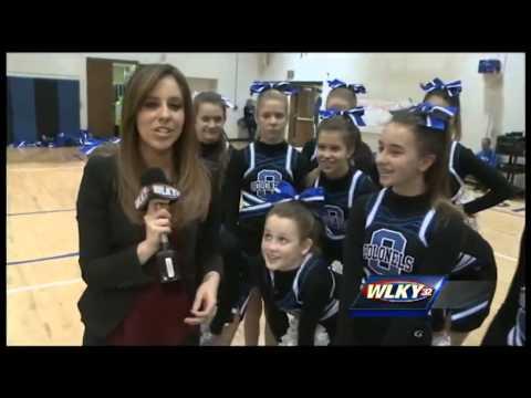 WLKY School Cribs: Oldham County Middle School Cheerleading