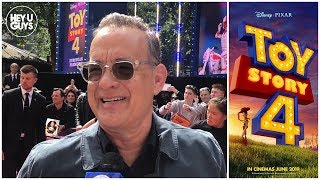 Toy Story 4 Premiere Interviews - Tom Hanks & More On What's Next For Woody