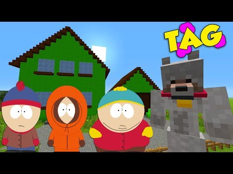 South Park meets Minecraft: Creeper kills Kenny : Minecraft