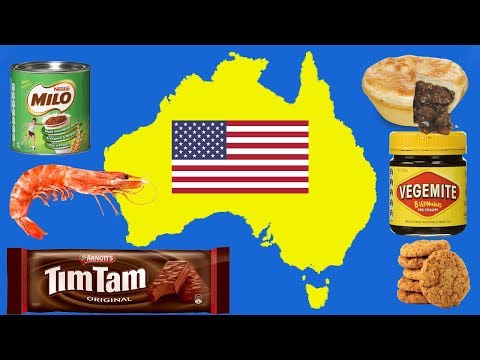Americans Try Australian Food (Aussie Reacts)