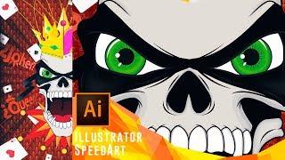Speedart   Mask of Death [Vector Design]