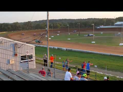 Steven Bowers Jr 7-9-16 heat race win at thunderhill speedway