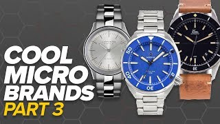 Cool Microbrands Part III