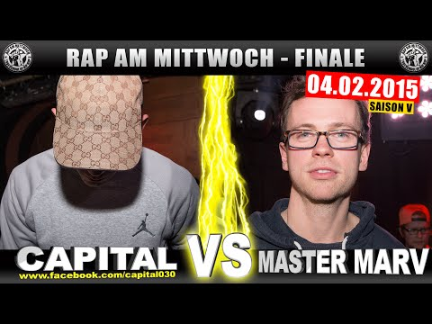 RAP AM MITTWOCH: Capital Bra vs Master Marv 04.02.15 BattleM