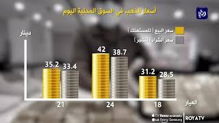 أسعار الذهب في السوق المحلية  30-5-2020