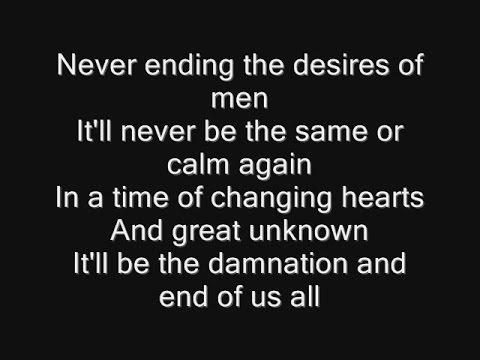 Iron Maiden - The Great Unknown Lyrics