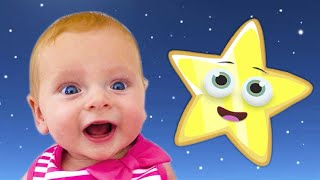 Twinkle Twinkle Little Star | Baby Song by Maya and Little Baby Mary