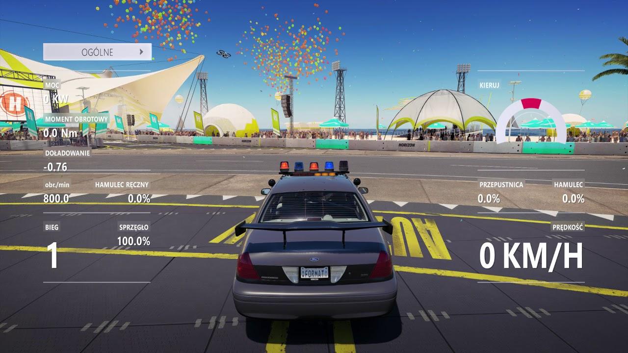 Forza Horizon 3 Tuning 2010 Ford Crown Victoria Police Interceptor ...