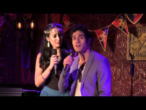 "Adam Jacobs & Courtney Reed - ""Out Of Thin Air"" (The Broadway Prince Party)"