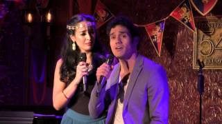 """Adam Jacobs & Courtney Reed - """"Out Of Thin Air"""" (The Broadway Prince Party)"""