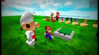 Super Mario 64 versão Roblox parte 1