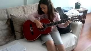 Yıldızların Altında Gitar ile solo