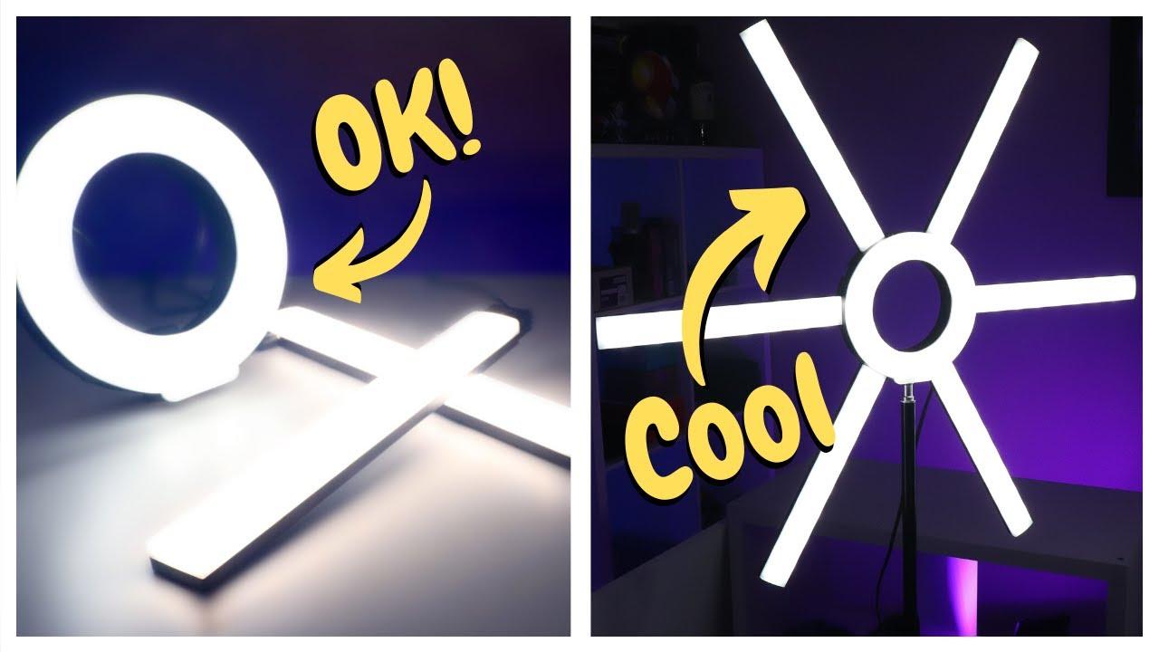 Versatile Light For Streamers & YouTube? GVM 600S Ring Light Review!
