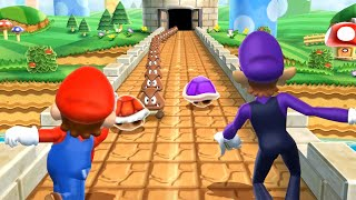 Mario Party 9 MiniGames - Mario Vs Luigi Vs Yoshi Vs Waluigi (Master Cpu)