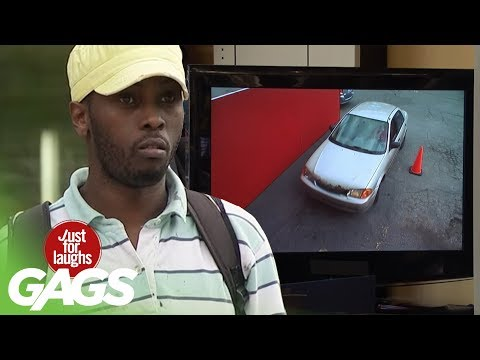 Customers Get Their Cars Stolen Prank! - Just For Laughs Gags