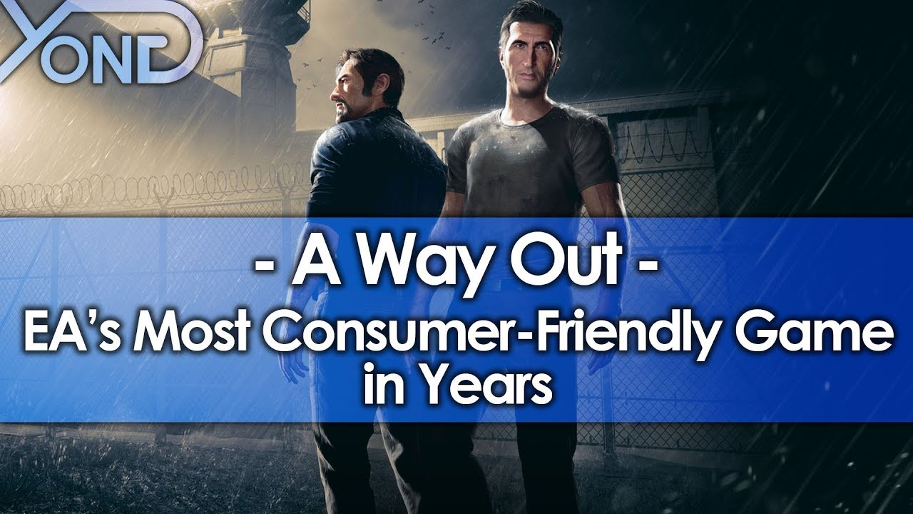 A Way Out is EA's Most Consumer-Friendly Game in Years